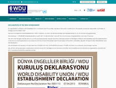 World Disability Union Resim 3
